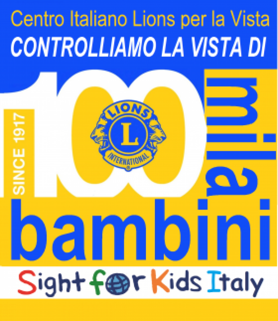 "SERVICE NAZIONALE LIONS ""SIGHT FOR KIDS"""