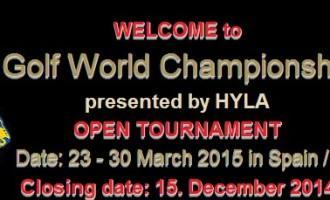 Torneo mondiale Lions di golf 2015.