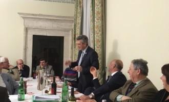 """Meeting e Conviviale Lions Club Narni con Fabrizio Sciarretta, Direttore responsabile della rivista """"Lionismo"""""""