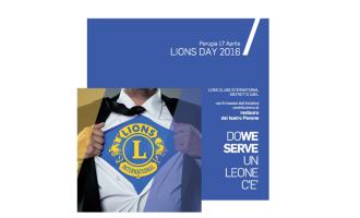 Programma del Lions Day 2016 a Perugia domenica 17 aprile 2016