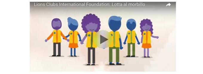 On Line il video sulla Campagna globale contro Morbillo