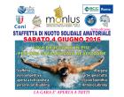 Staffetta di nuoto solidale amatoriale – 4 giugno 2016