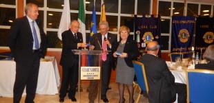 Il Governatore  Tommaso Sediari  incontra i Lions Club Cagliari Villanova e Monte Urpinu
