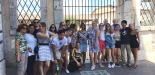 """I giovani campers del Campo Amicizia """"E. Cesarotti"""" a Spoleto"""