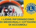 I Lions riforniscono di medicinali i cittadini di Accumoli