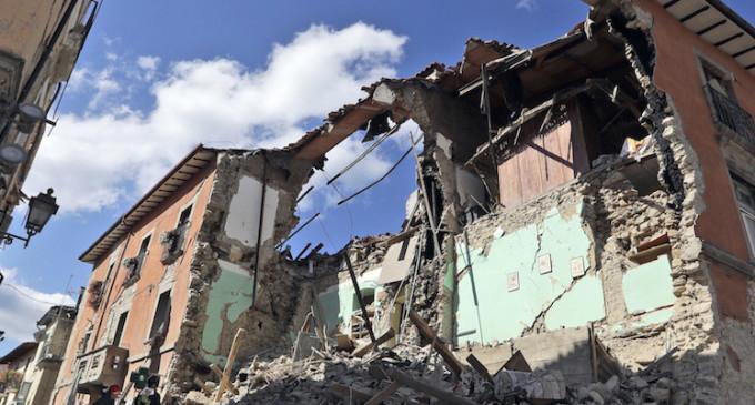 Leo: pronto intervento terremoto