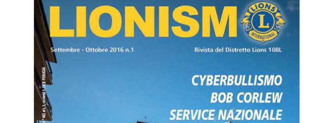 E' online il primo numero di Lionismo 2016-17