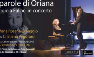 Cristina Pegoraro in concerto a Roma