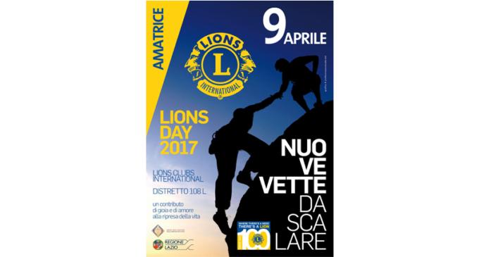 LION DAY 9 APRILE 2017 – AMATRICE