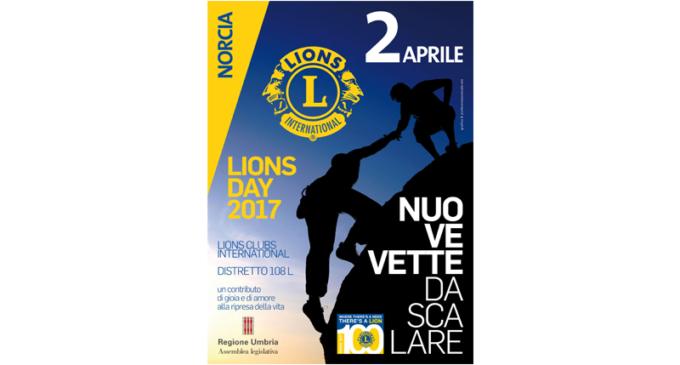 Lions day a Norcia il 2 Aprile