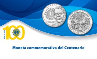 Aggiornamento sulla moneta del Centenario di Lions Clubs