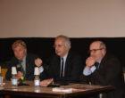 Applausi convinti del pubblico al Nuovo Cinema Castello per Walter Veltroni, nel corso della manifestazione organizzata dal  Lions Club Città di Castello
