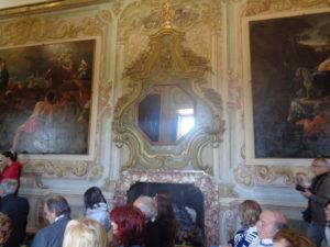 La sala della cerimonia