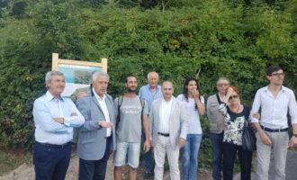 """LC Narni, inaugurazione percorso della Formina """"Francesco e l'Acqua"""". consegna targhe"""