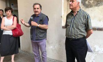 LC Narni consegna affreschi restaurati alla Loggia dei Priori