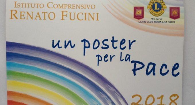 """Il Lions Club Roma Ara Pacis per il Service """"Un Poster per la Pace"""""""
