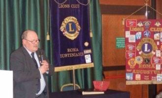 LIONS CLUB ROMA AGUSTUS: VISITA DEL GOVERNATORE ROCCO FALCONE