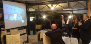 """Ingresso """"telematico"""" di un socio: il Lions Club Umbertide celebra la 34^ Charter Night con una sorpresa all'insegna dell'innovazione"""