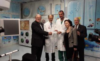 Un grande sogno è stato realizzato nel distretto 108L: il progetto Acquarius Gemelli Art.