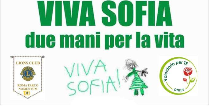 """L.C. Roma Parco Nomentum : Service di Rilevanza Nazionale """"Viva Sofia: due mani per la vita"""""""
