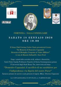 """In Memoria di Domenico Capannini Decorato di Medaglia d'Argento al Valore Militare"""" a cura di Manola Solfanelli e Sara Fresi"""