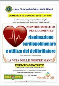"""Rianimazione cardiopolmonare ed utilizzo del defibrillatore @ Parco giochi """"Cioco Jungla"""""""