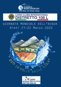 Giornata mondiale dell'Acqua - Rieti 21-22 Marzo @ Rieti